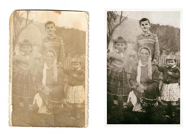 restauro foto pordenone